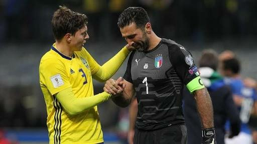 Buffon red card ucl 2018 semi final real madrid