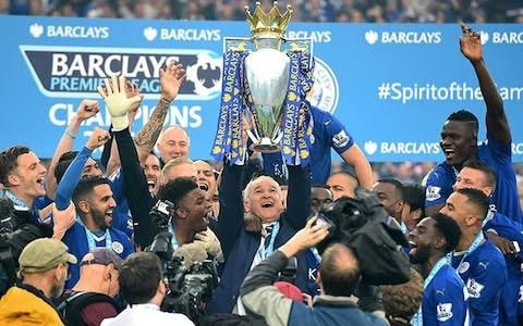Leicester City EPL win 2015-16