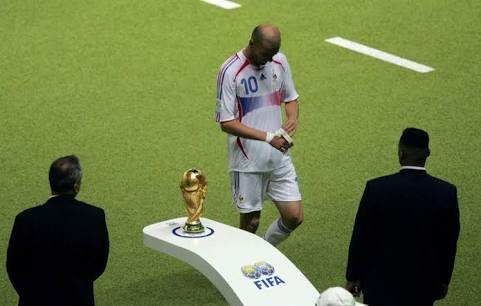 Zidane red card World Cup 2006 final Italy