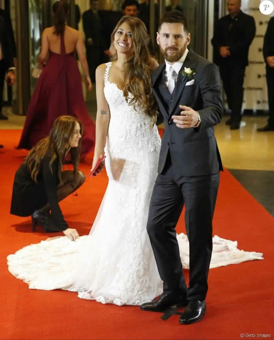 Messi and Antonella