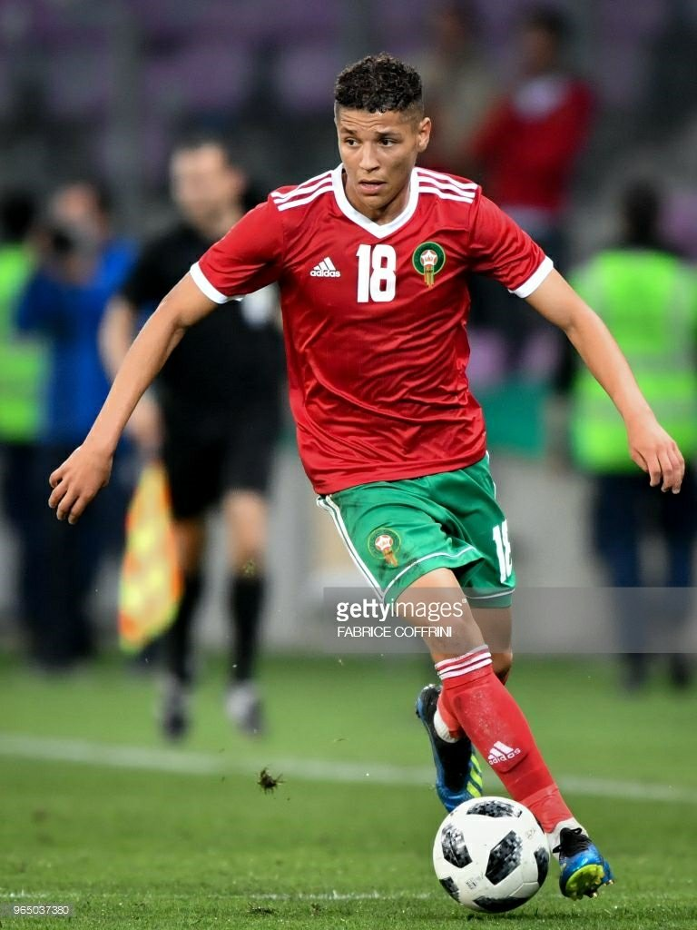 Amine Harit for Morocco