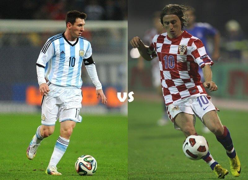 Argentina versus Croatia