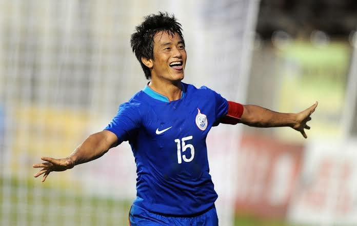 Bhaichung Bhutia Indian Jersey
