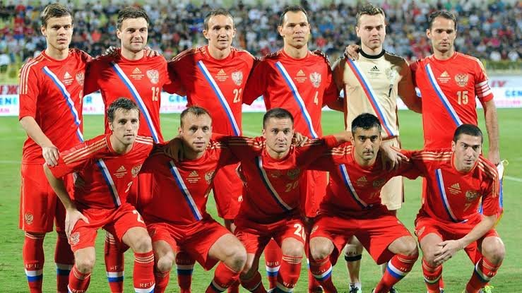 Russian team for world cup 2018