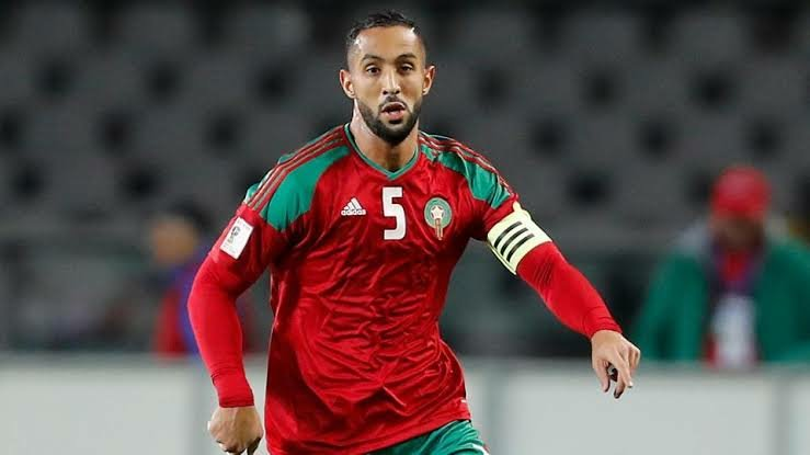 Medhi Benatia in action for Morocco