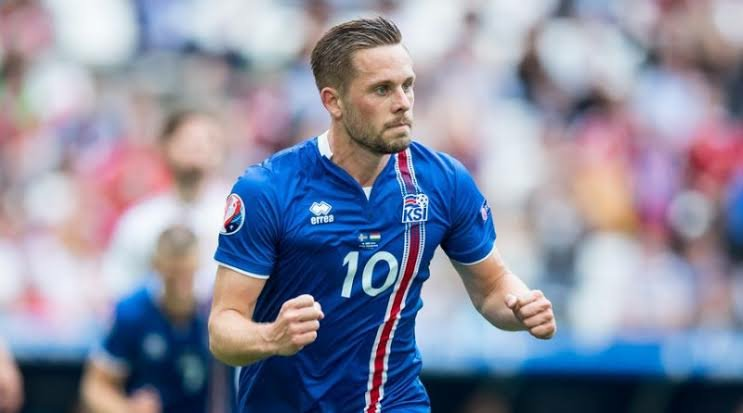 Gylfi Sigurdsson in action for Iceland