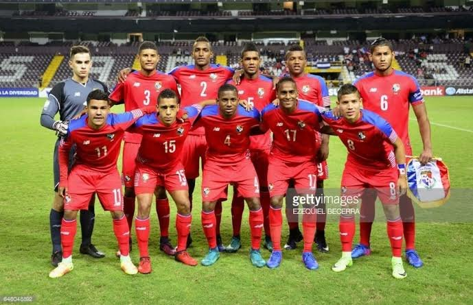 Panama team for the World Cup 2018