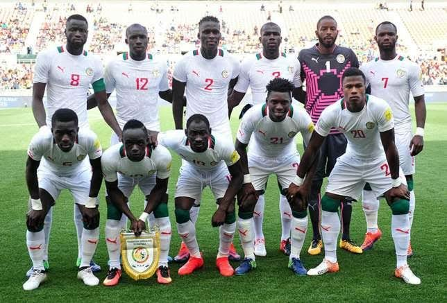 Senegal team for the World Cup 2018