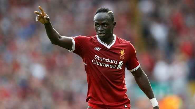 Sadio Mane of Liverpool and Senegal