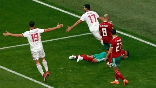 Morocco own goal