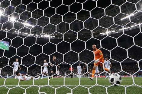 Croatia third goal
