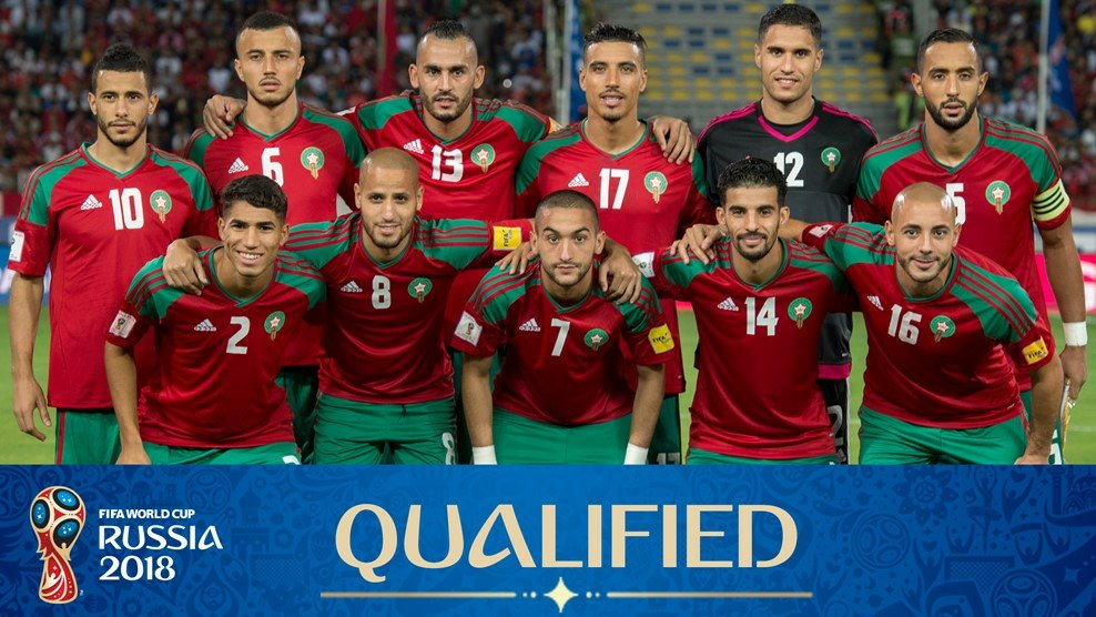 Morocco team for the World Cup 2018