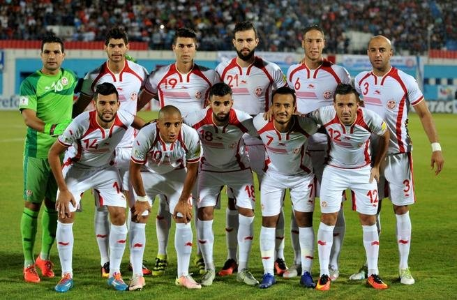 Tunisia team for the World Cup 2018