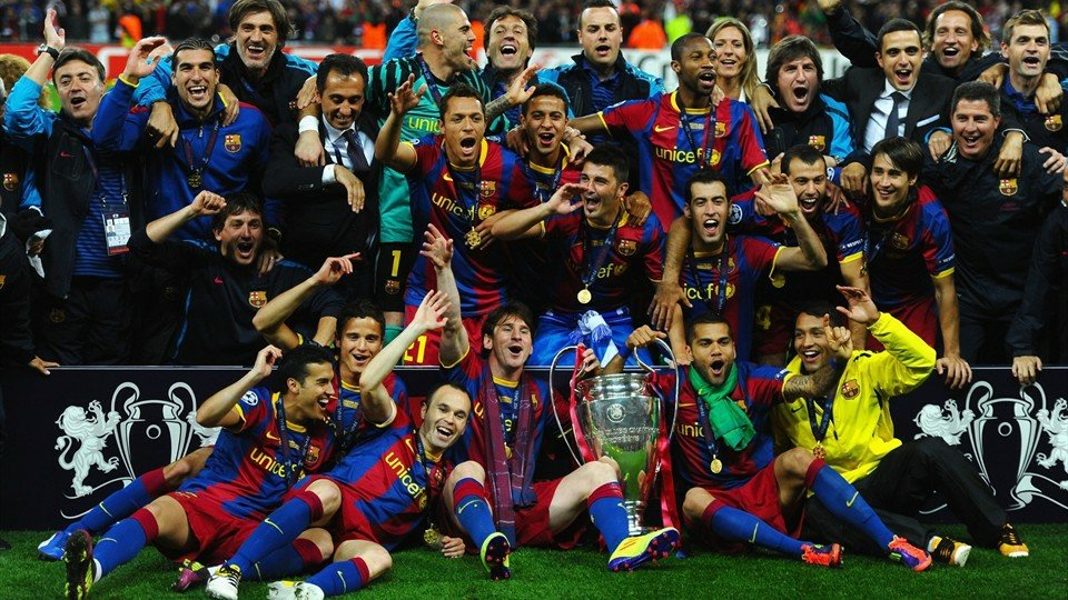 Barcelona champions league 2011