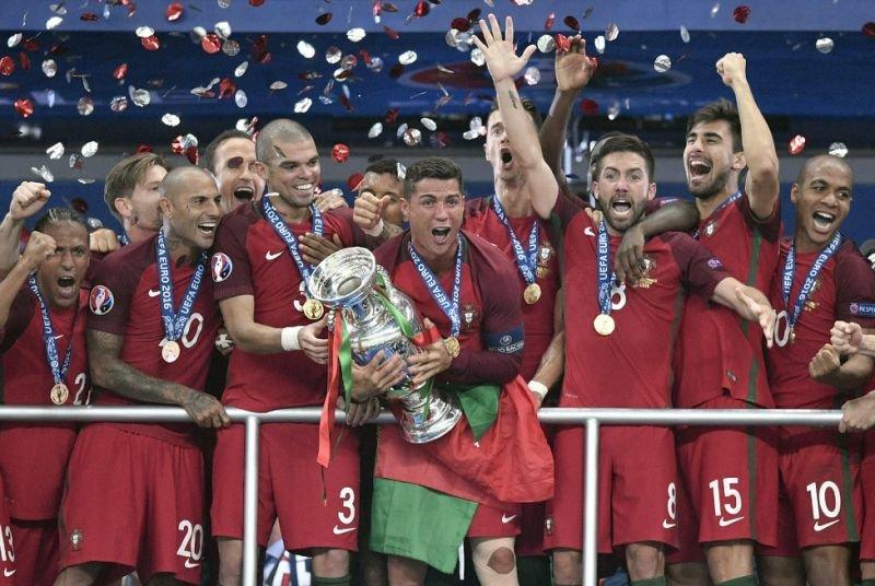 Ronaldo wins the Euro 2016