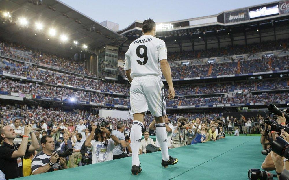 Real Madrid welcomes Cristiano Ronaldo