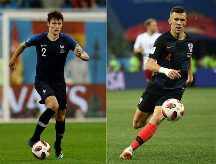 Pavard vs Perisic