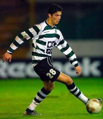 Cristiano Ronaldo in Sporting CP