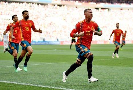 Spain va Russia