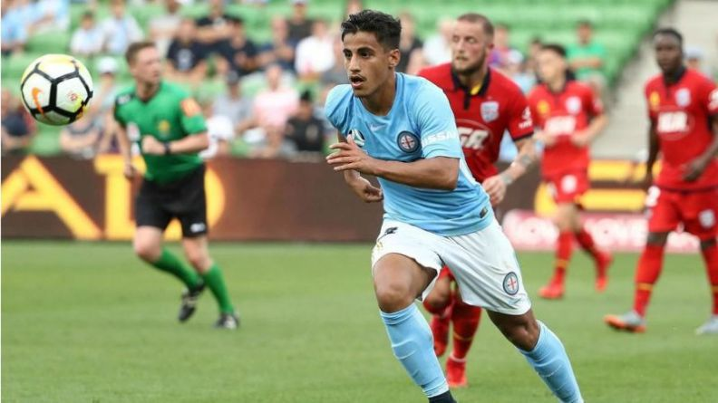 Daniel Arzani Manchester City