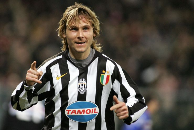 Pavel Nedved Juventus Ballon d'Or 2003