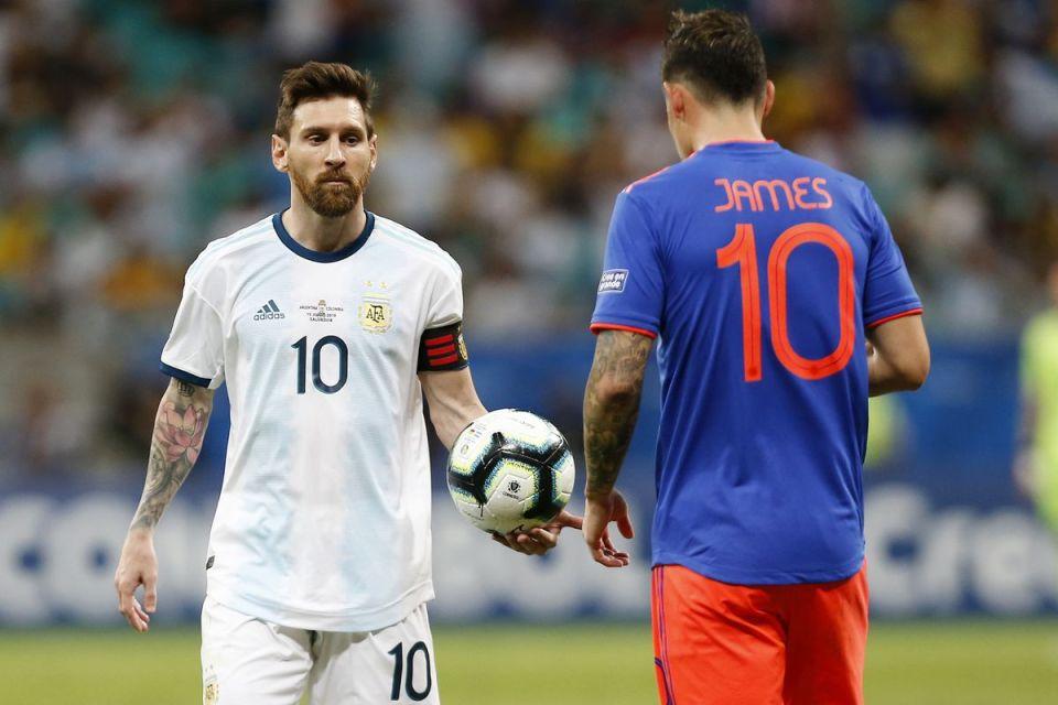 Messi vs James Rodriguez Copa America 2019
